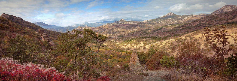 горы, осень, Алексей