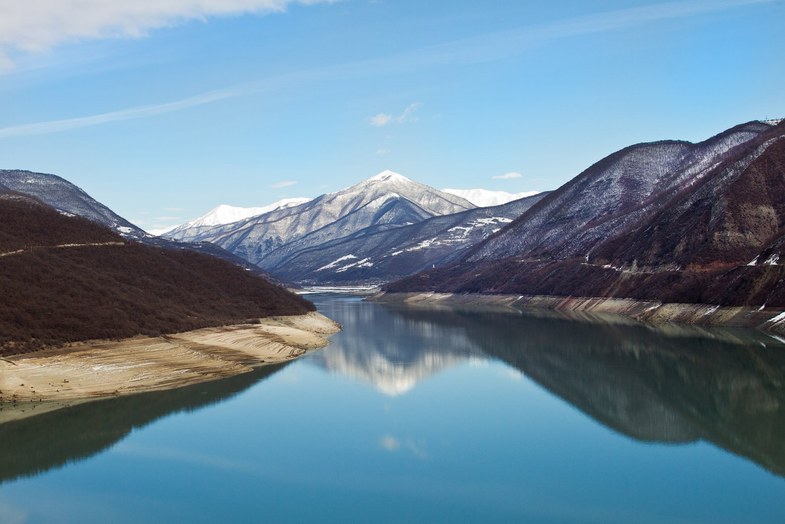 гудаури, водохранилище, грузия, Артем Верхогляд