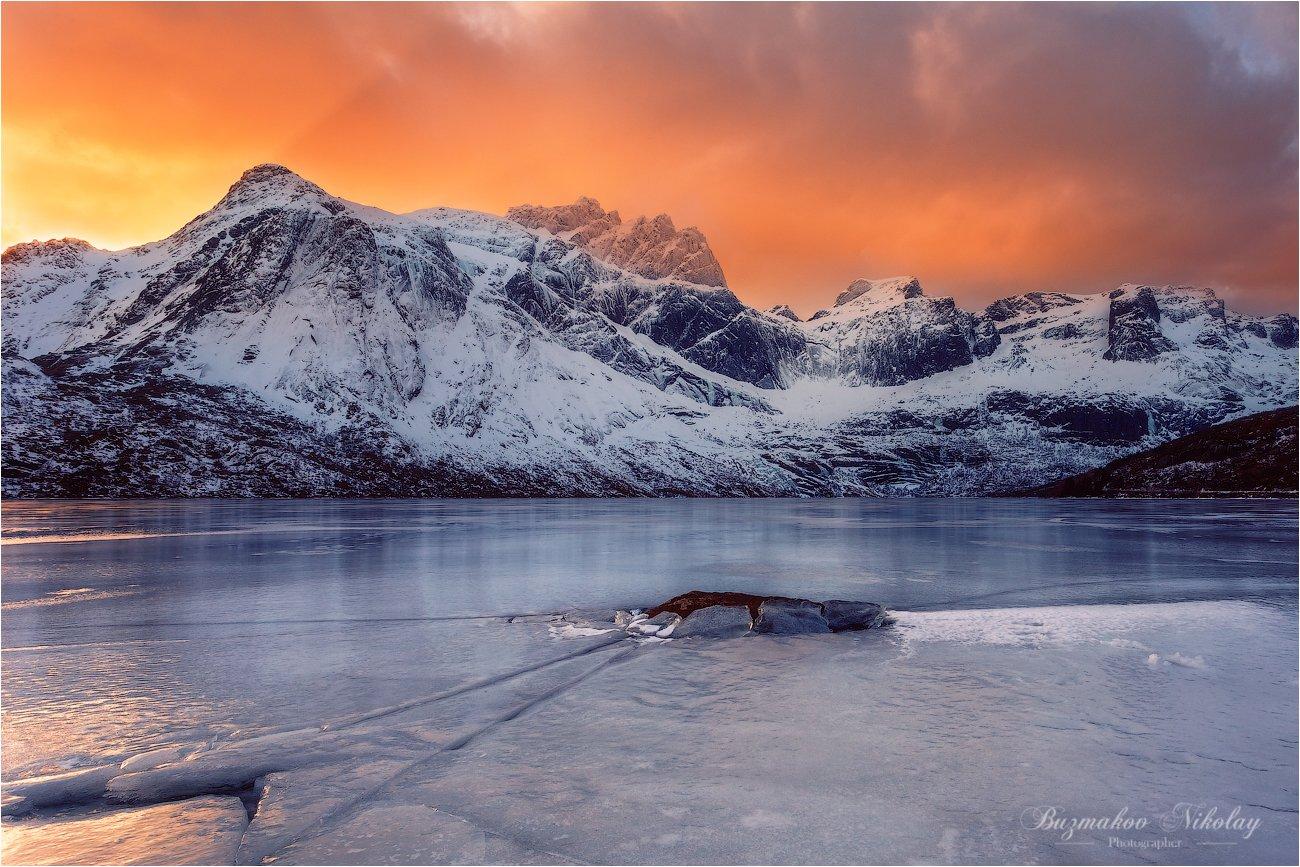 norway. lofotenislands. storvatnet. nusfjord., Бузмаков Николай