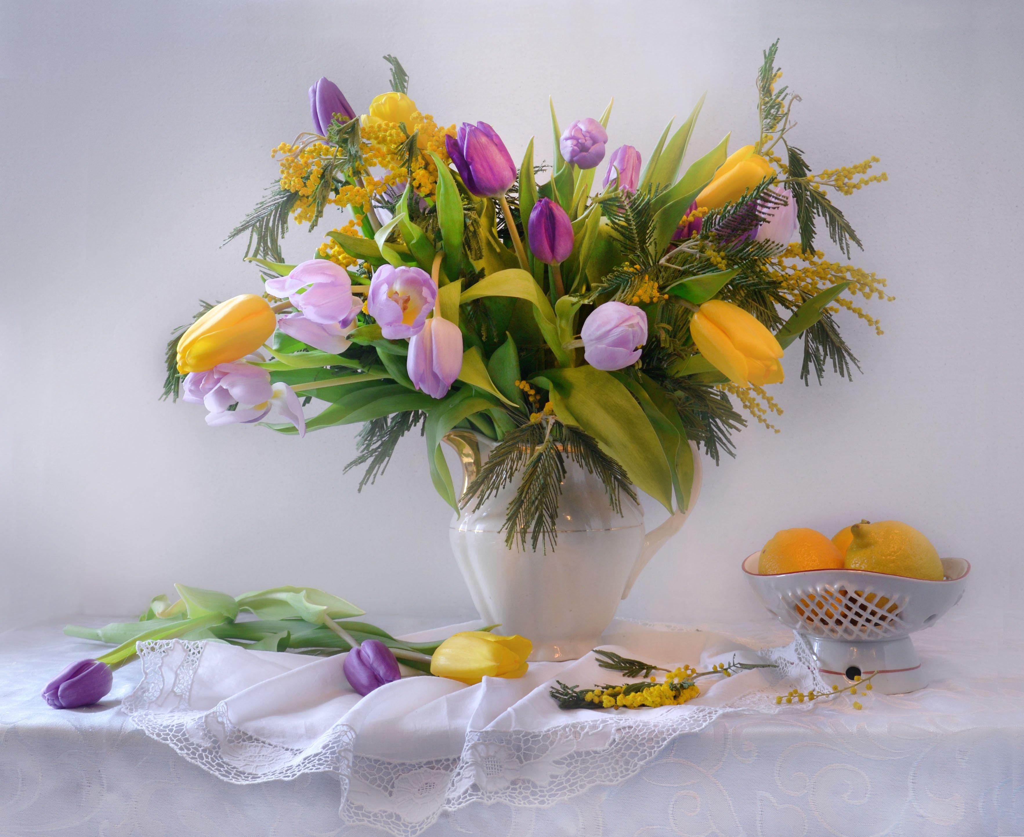 still life,натюрморт,букет тюльпаны, весна, март,  поздравление, праздник, праздничный, фото натюрморт, цветы, Колова Валентина