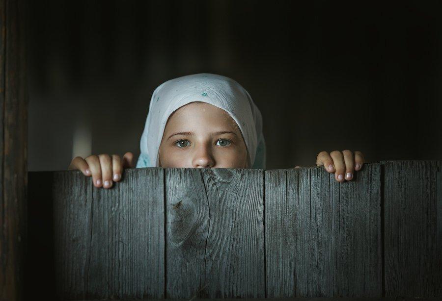 дети, портрет,село,трудности,деревня,бабушка,ребенок,Алтай,Россия,отдых, Оксана