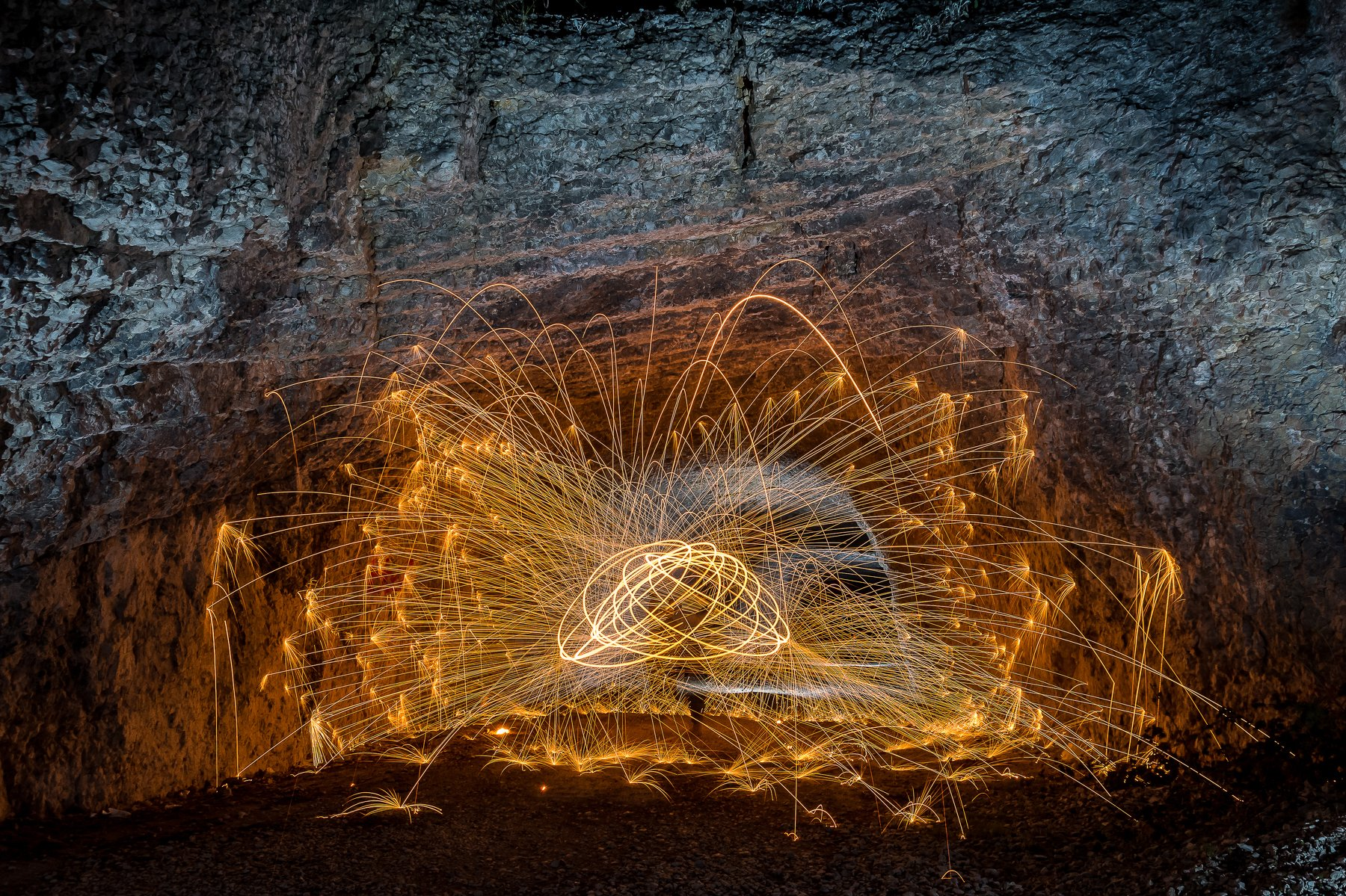 #light #cave #idea #fire #absstract #orange #places #style #travel #fireworks #nature, Nikolay Nikolov