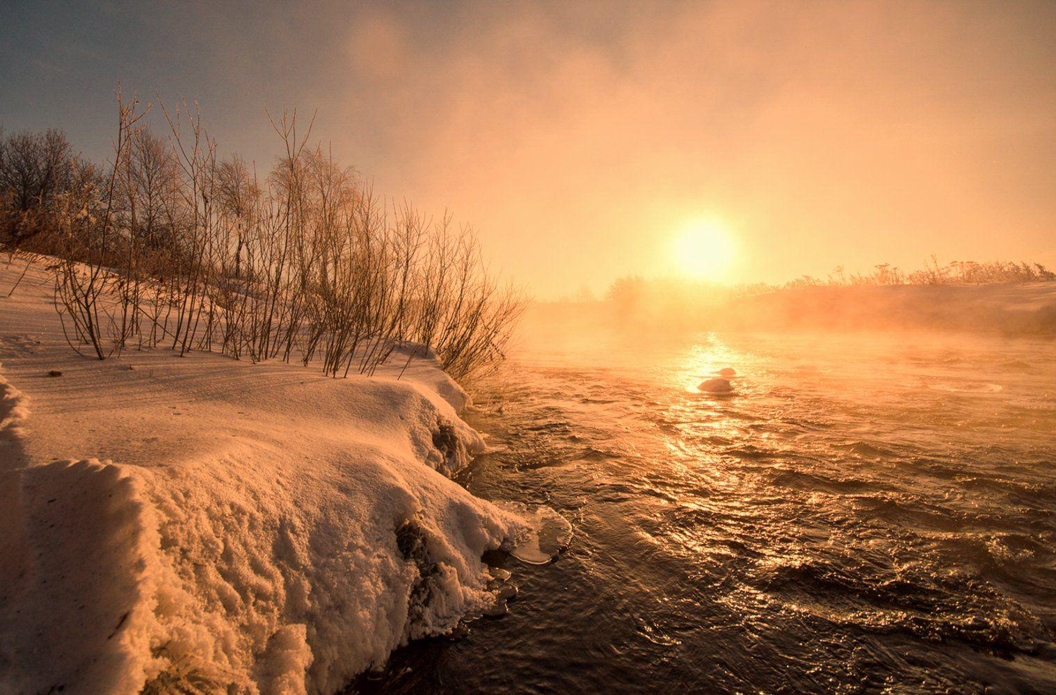 утро,природа,рассвет, Карепанов Евгений