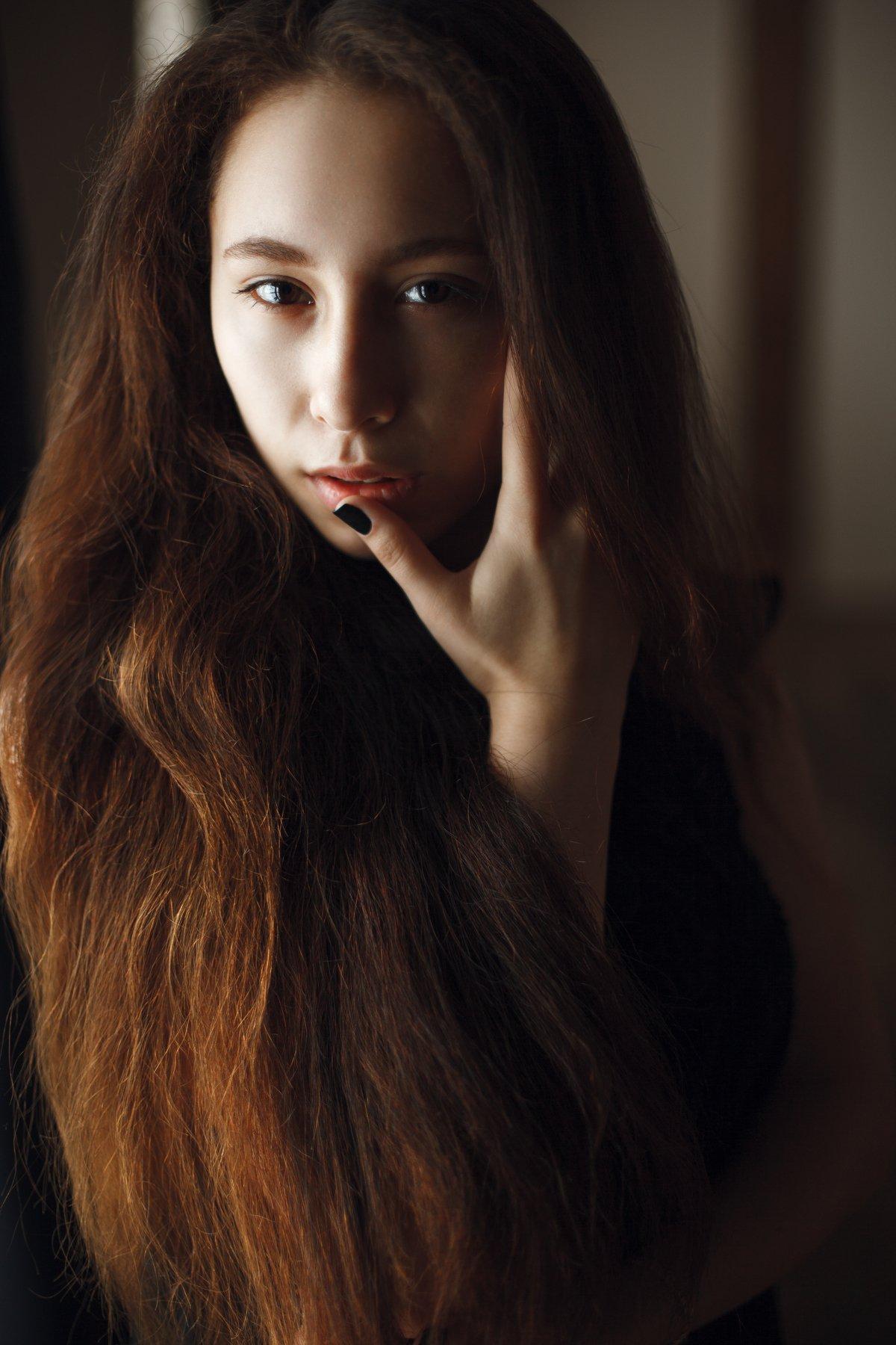 портрет, portret, face, girl, девушка, Евгений Мартынов