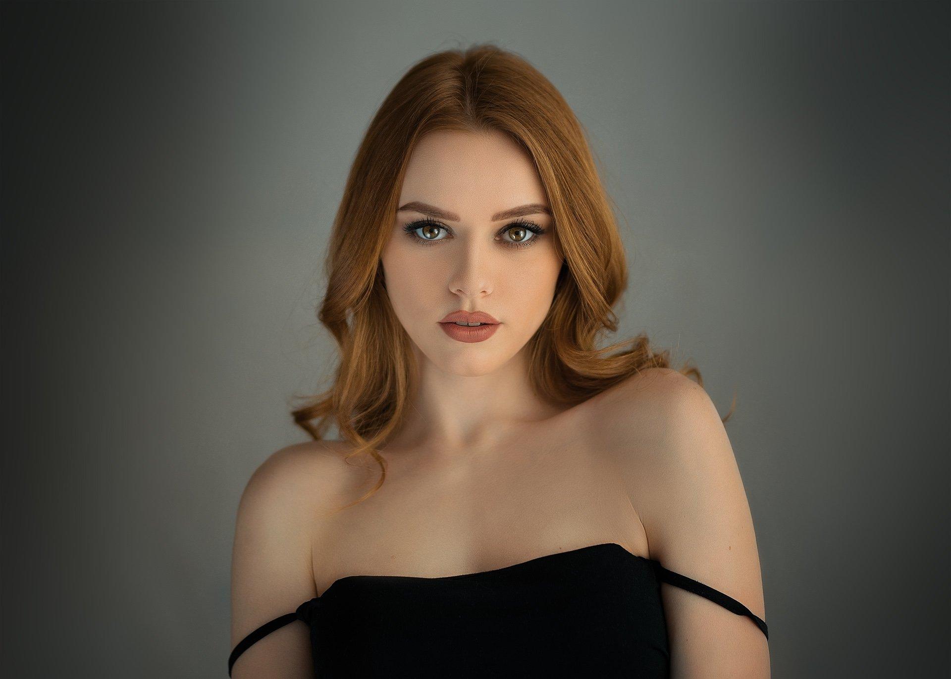 девушка, молодая, красивая, лицо, портрет, взгляд, красота, естественный свет, sigma, блондинка, Евгений Сибиряев