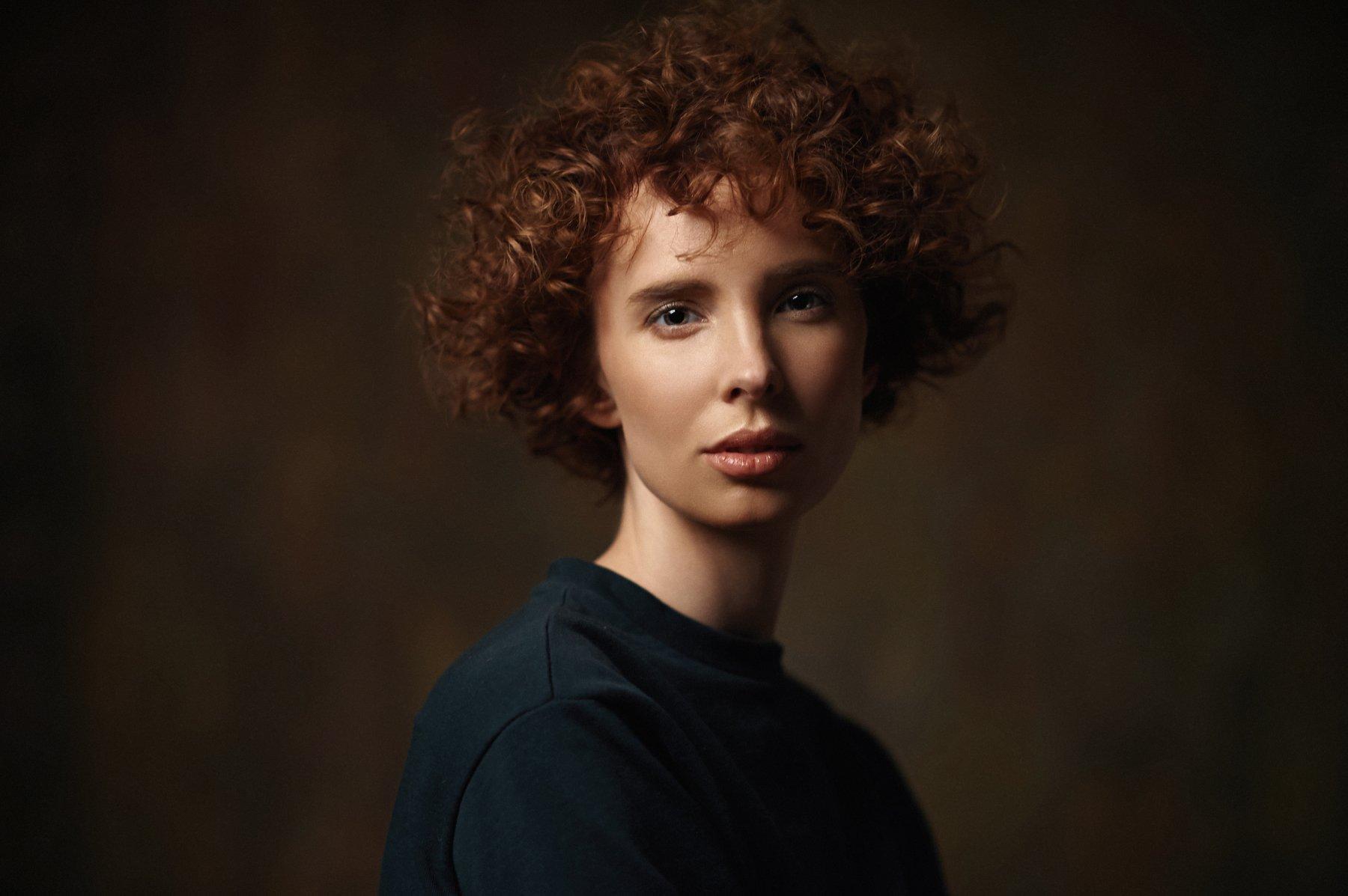 девушка, модель, портрет, 2017, portrait, model, Василий Жуков