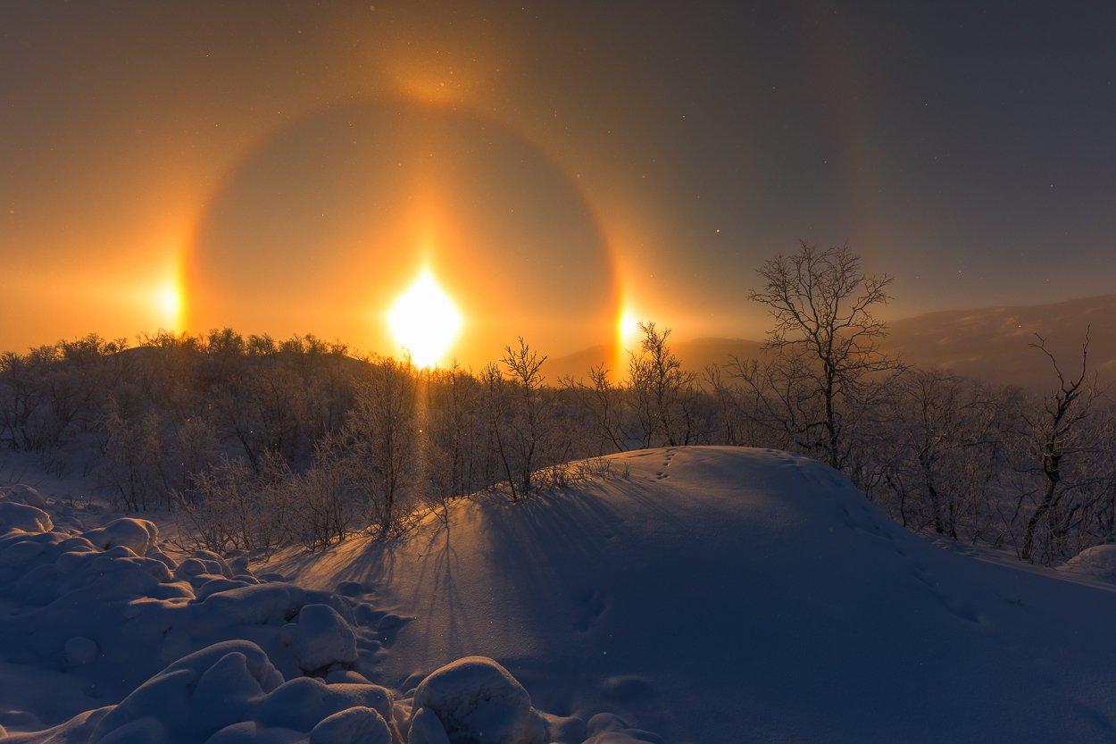 sweden,abisko,winter,, Marek Biegalski