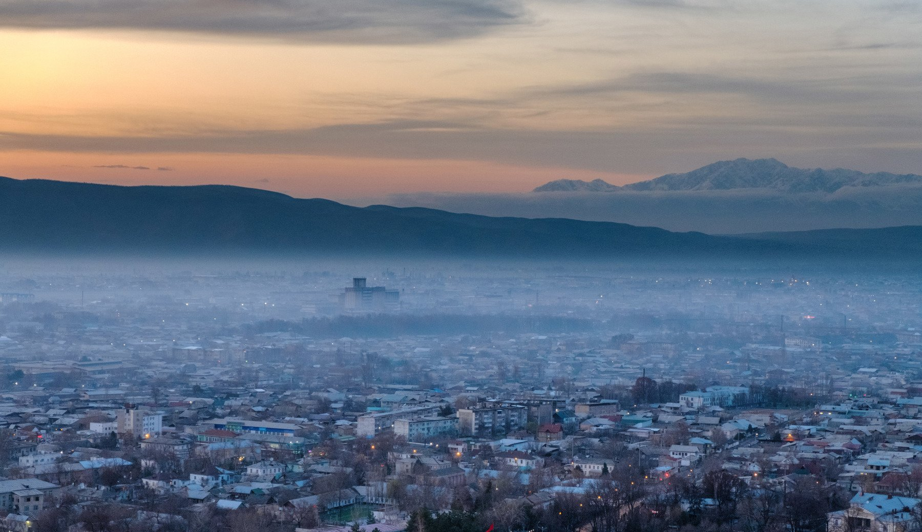 cityscape, город, городской пейзаж, кыргызстан, киргизия,, Марат Сайранбаев