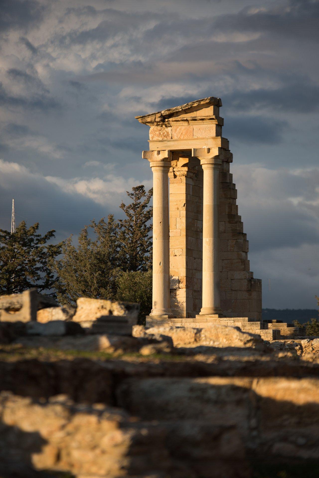 Кипр, Лимассол, Храм Апполона, культовое, развалины, храм, Илья Беленький