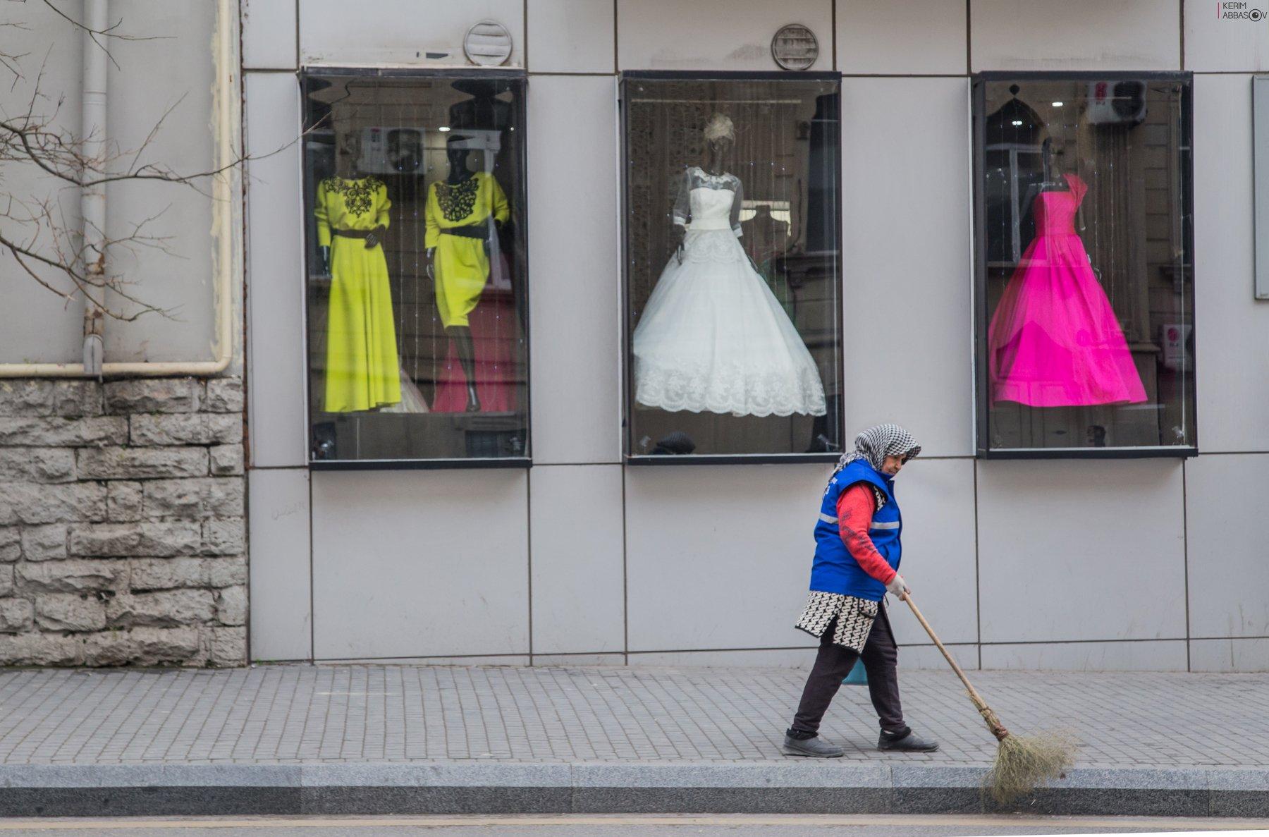 baku azerbaijan street, Керим Аббасов