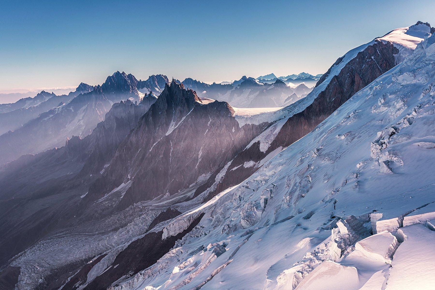 winter, snow, Mont blanc, Chamonix, trekking, mountains, mountain, Goûter, , Patrycja