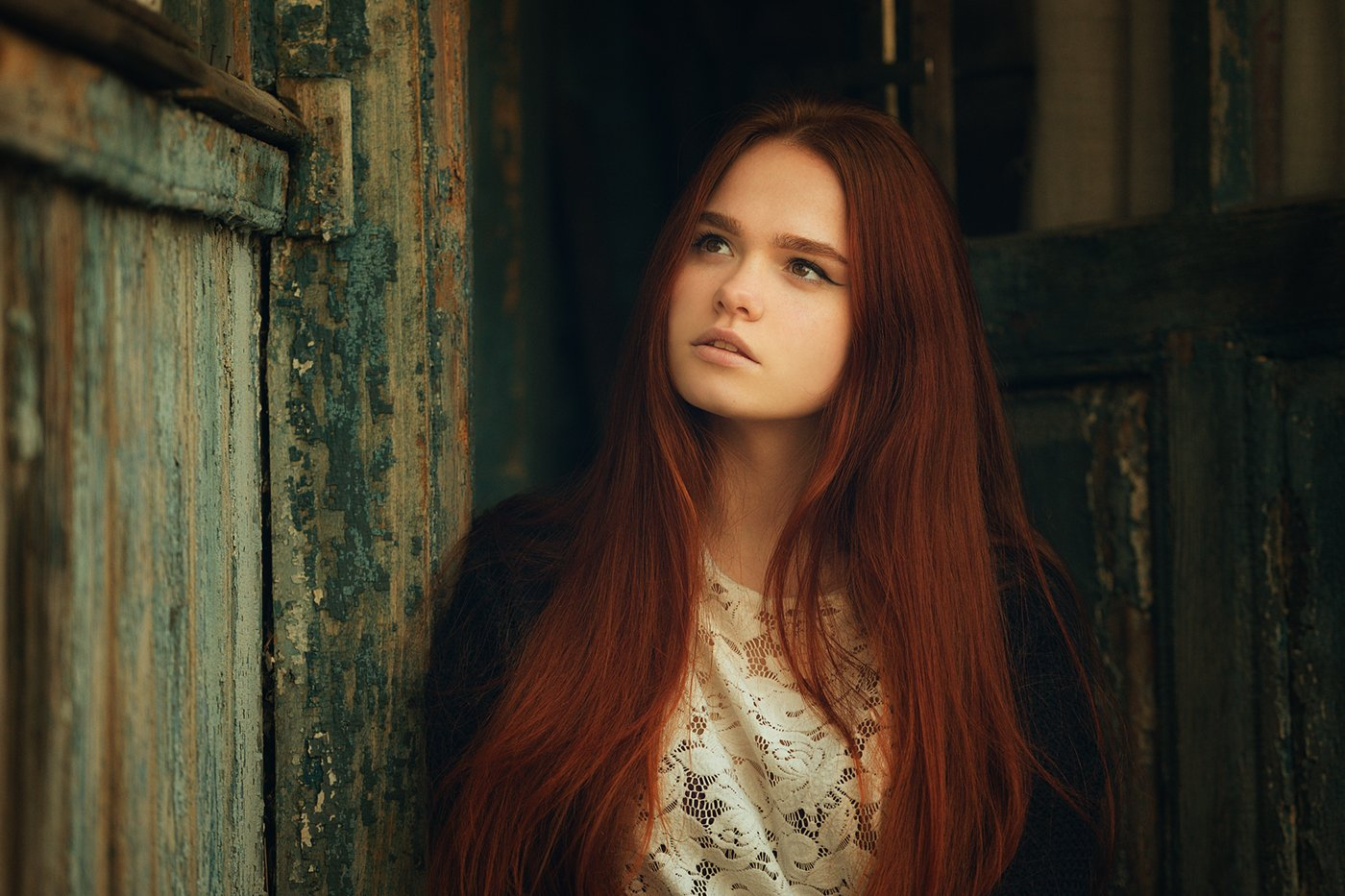 девушка, портрет, Вьюшкин Игорь