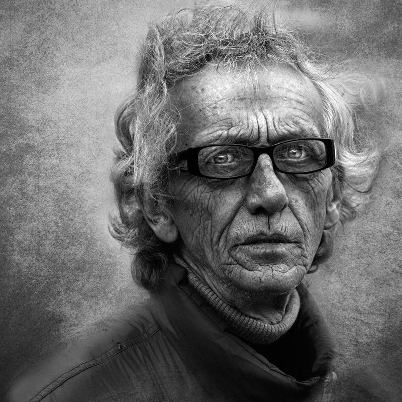 street photography портрет улица лица люди город ч/б фото, Юрий Калинин