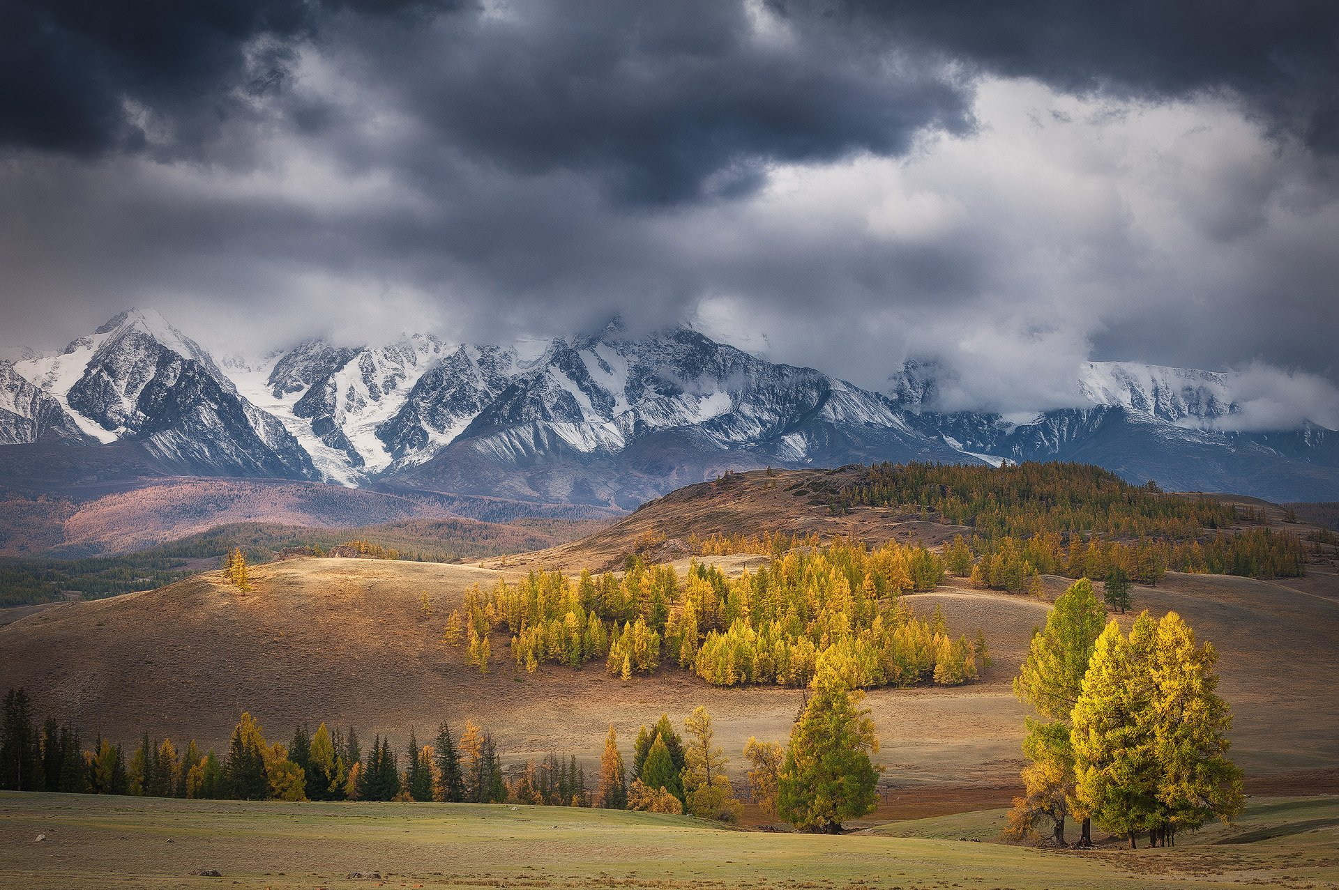 алтай осень, Юрий Перцов