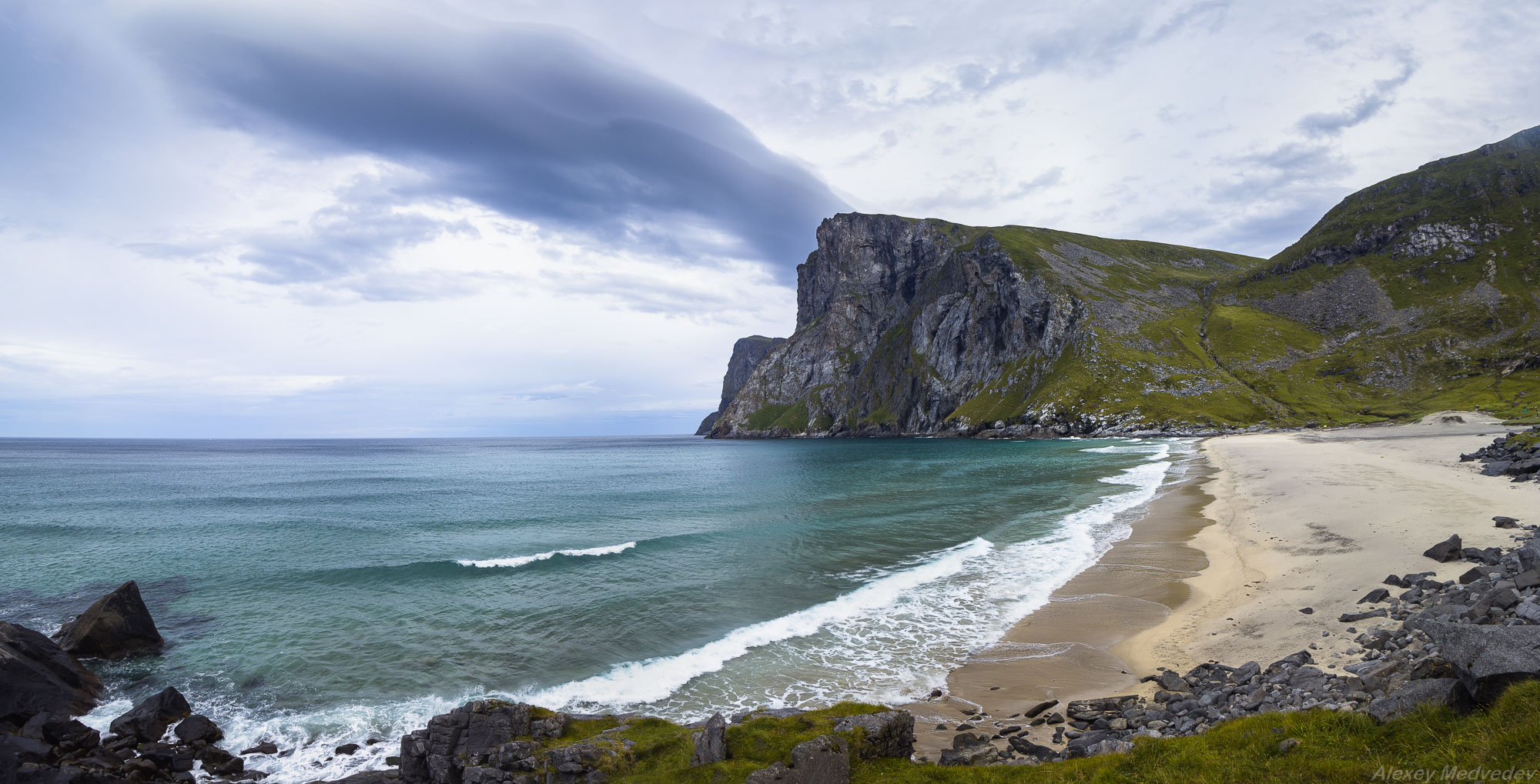 lofoten, norway, sea, beach, Алексей Медведев