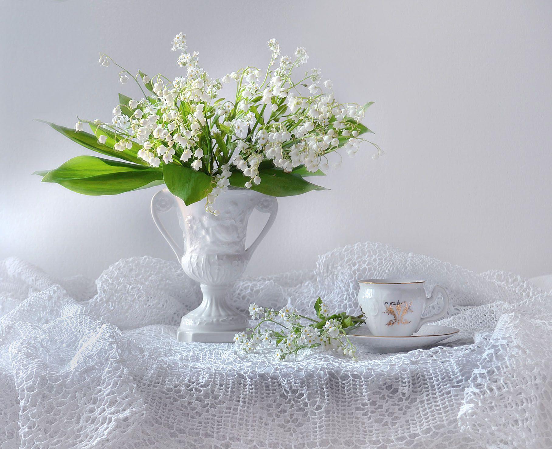 still life, натюрморт , апрель, весна,    фото натюрморт, цветы, ландыши, Колова Валентина