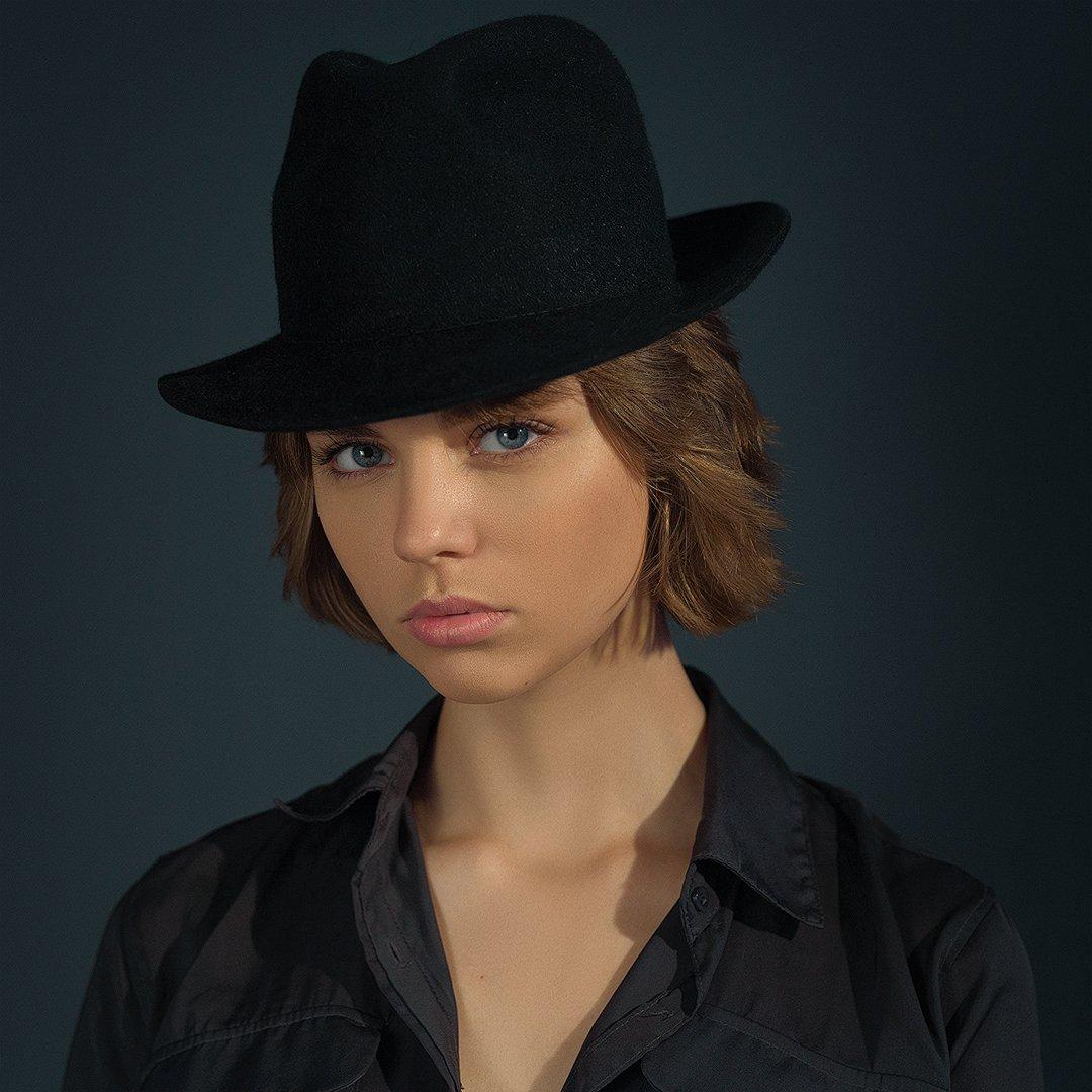девушка, молодая, красивая, лицо, портрет, взгляд, красота, студийный свет, постоянный свет, sigma, Евгений Сибиряев