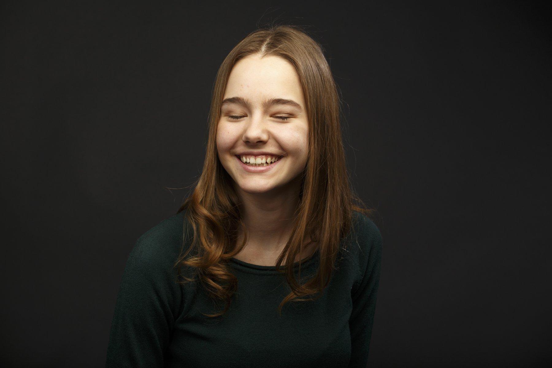 портрет настроение фото студия свет девушка, Zonder Alex