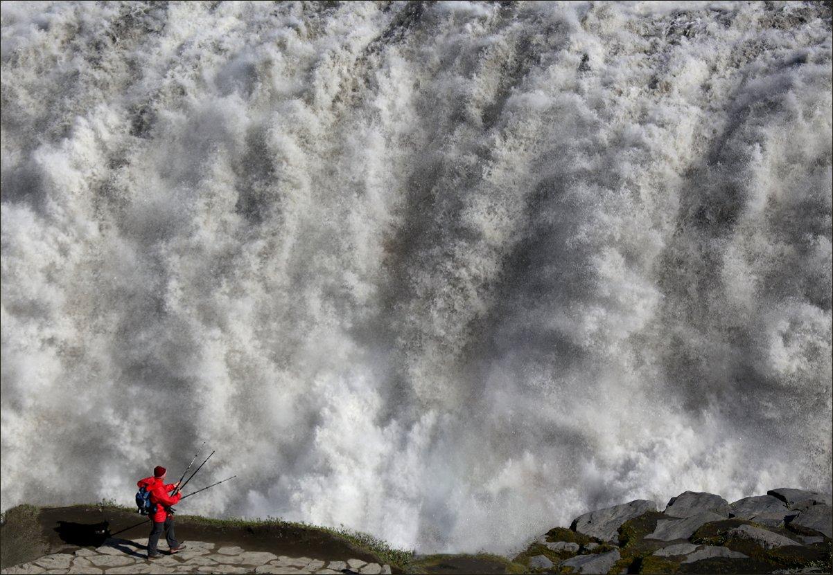 dettifoss, исландия, водопад, dettifoss, iceland, waterfall, Вера