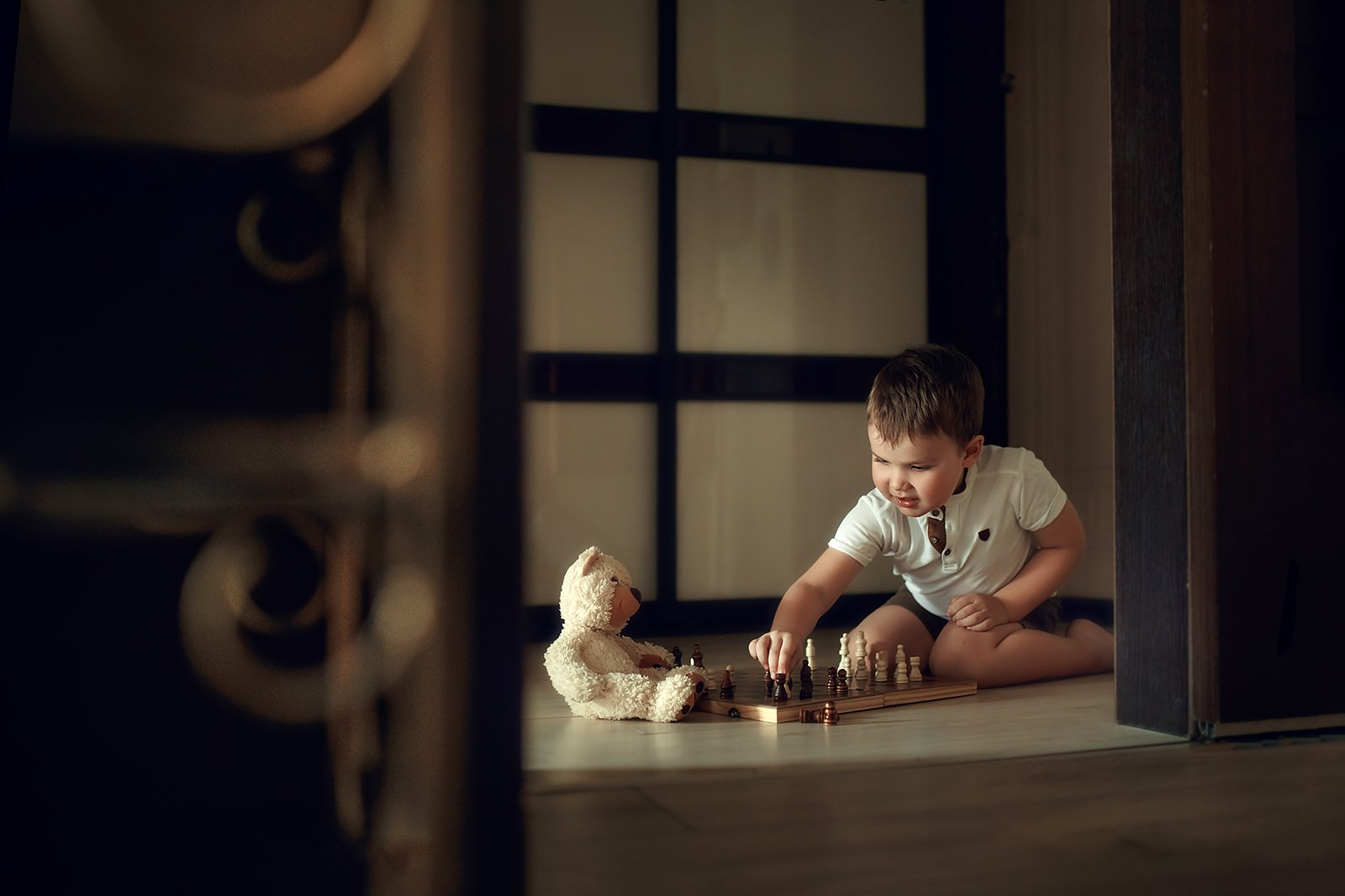 дети, портрет, семья, Ольга Балакир