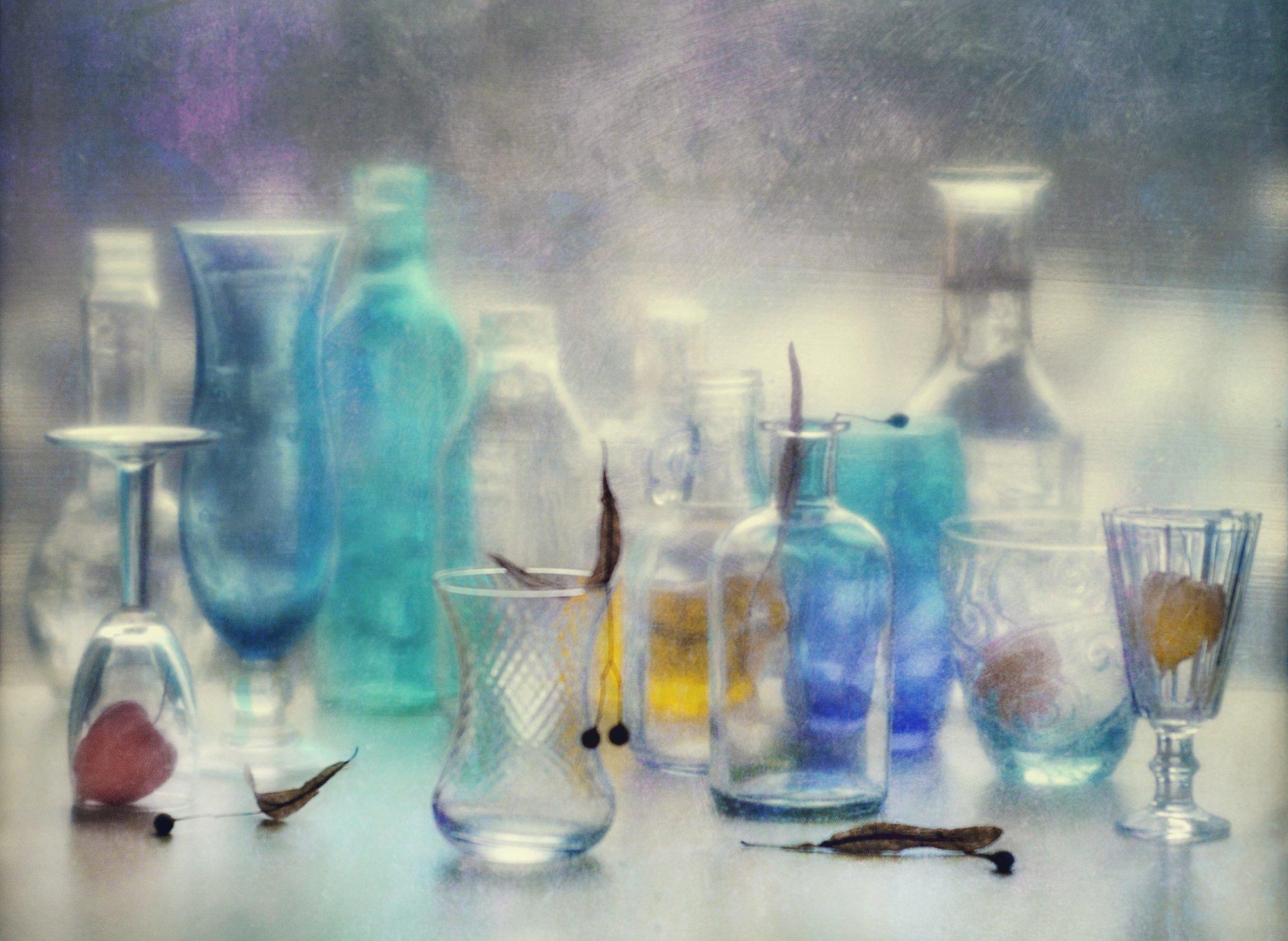 натюрморт,стекло, Наталия Калимбекова