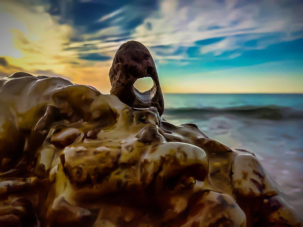 пейзаж, природа , море , великаны, Сергей Мелефара