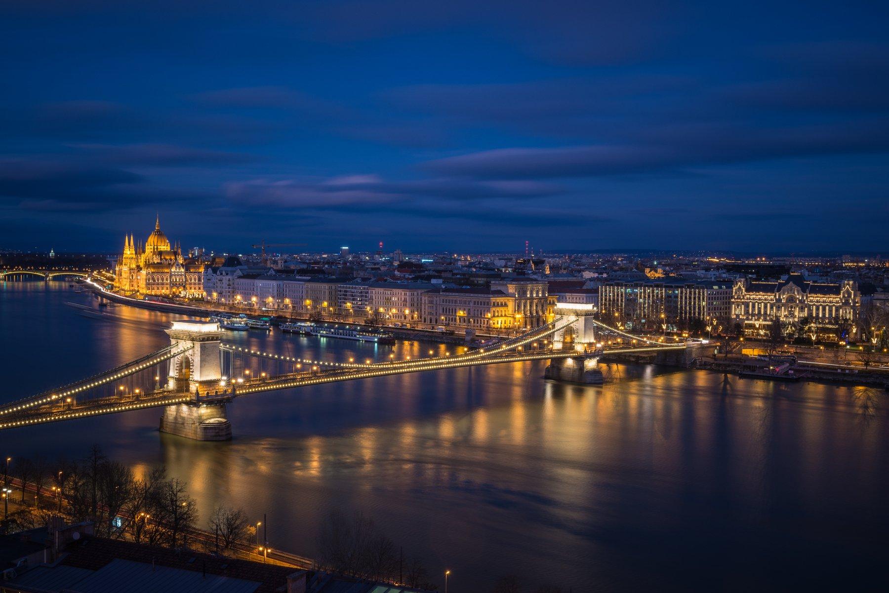 цепной мост. парламент. будапешт. 2017, Oleg