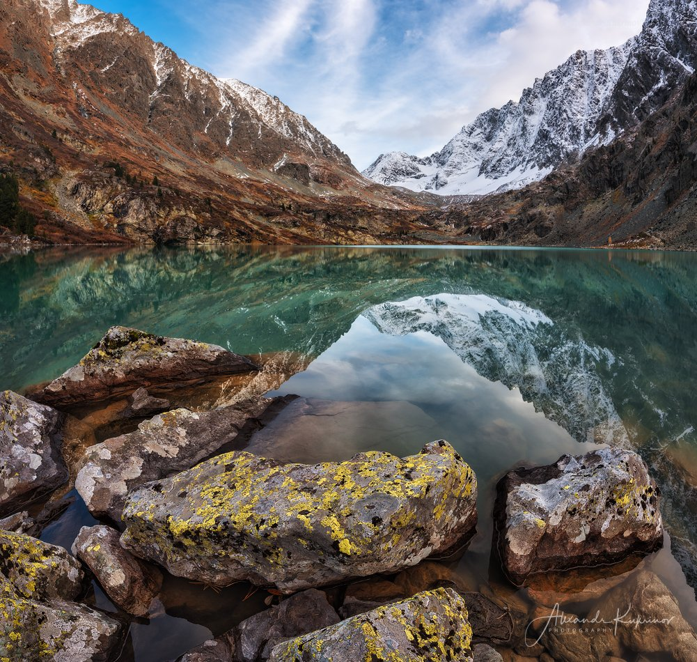 пейзаж, алтай, горы, озеро, куйгук, Александр Кукринов