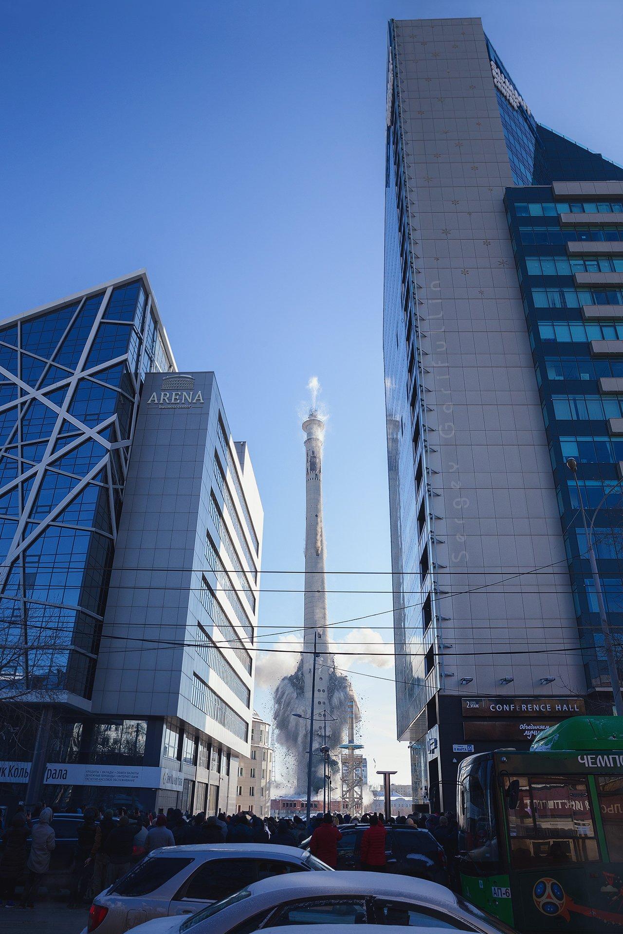 башня, телебашня, екатеринбург, взрыв башни, взрыв телебашни, Сергей Гарифуллин (http://sgarifullin.ru/)