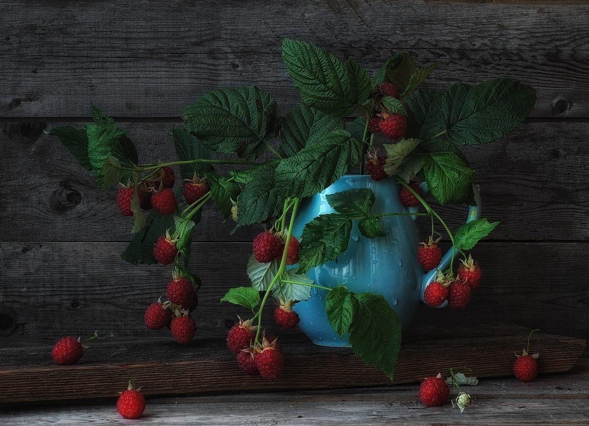натюрморт,малина,ягоды, Наталия К