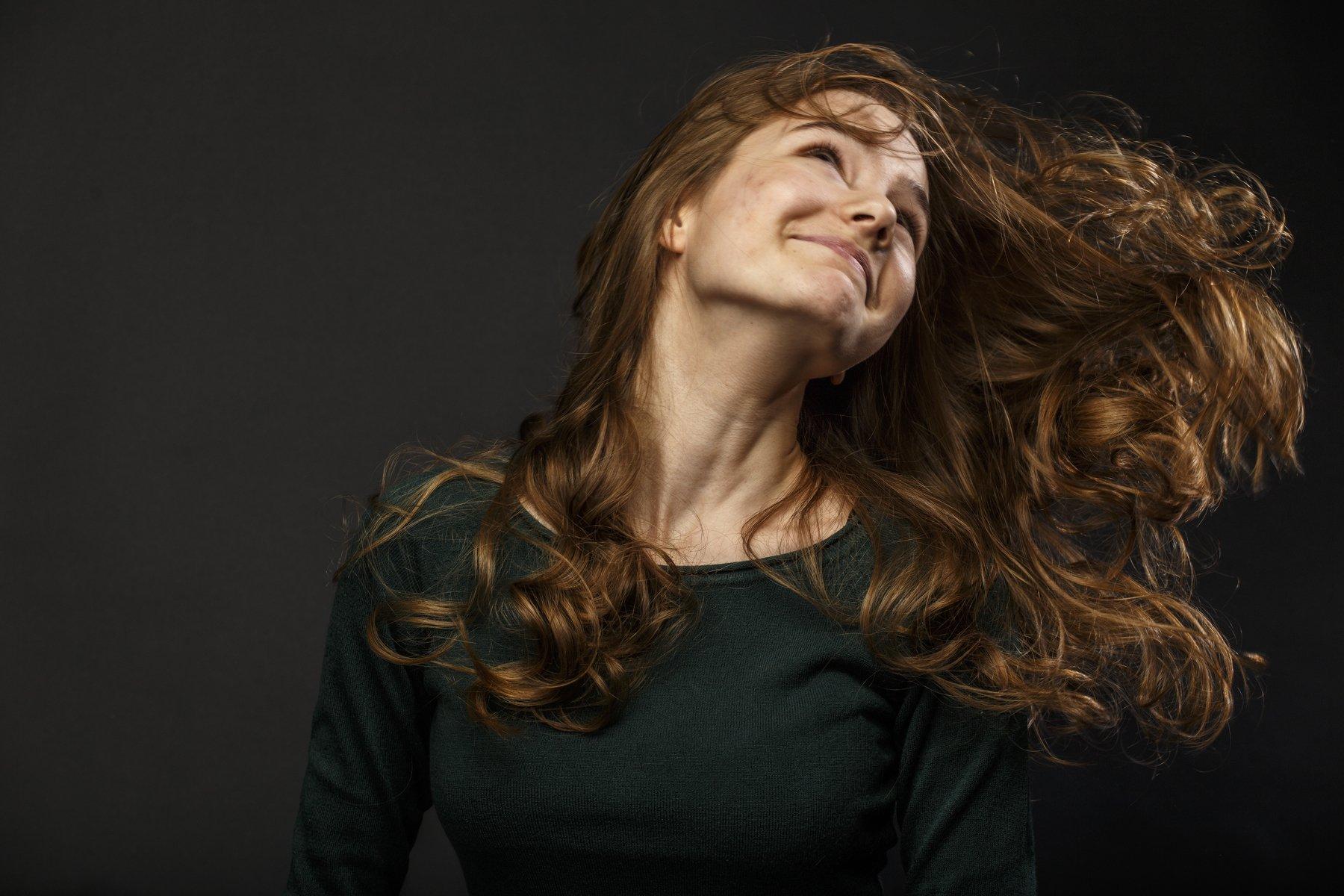 портрет девушка свет фото студия настроение, Zonder Alex