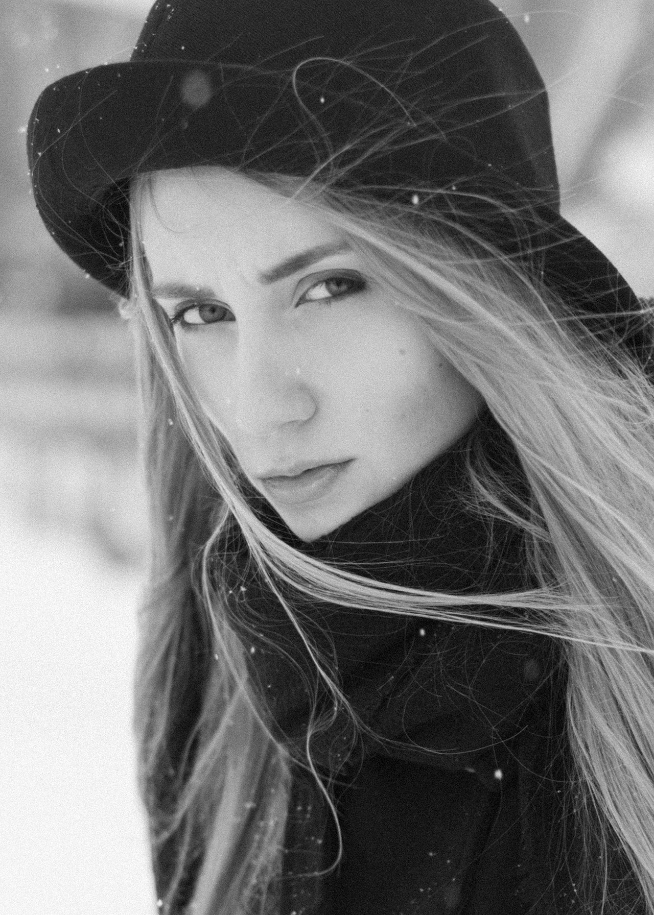 #girl #portrait #bw, Саврасов Сергей