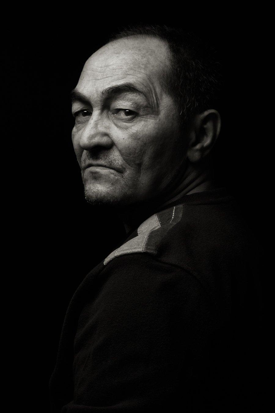 портрет, черно белое, мужчина, black is shadow, Руслан Рахматов