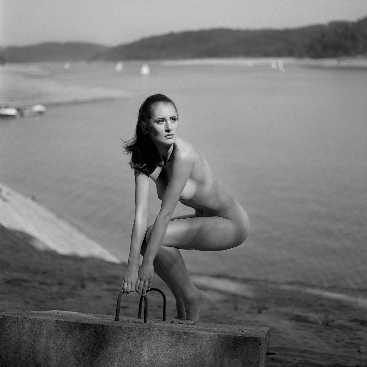 akt, nude, analog, hasselblad, ninoveron, women, topless, fineart, bw, 6x6,, NinoVeron