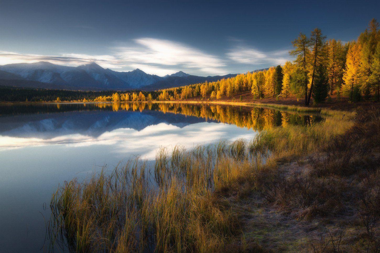 алтай, горы, осень, киделю, Владимир Ляпин