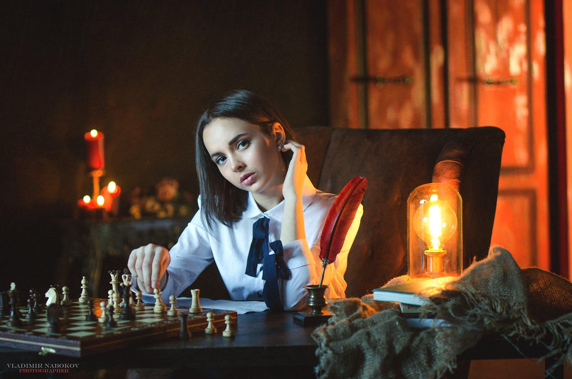 шахматы модель постановка вечер , Владимир