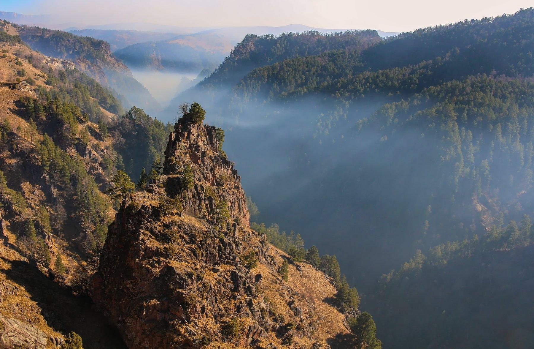 горы, туман, Эстелла