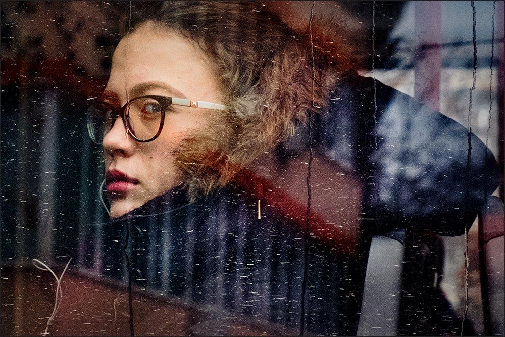 mirrored, portrait, Denis Buchel (Денис Бучель)