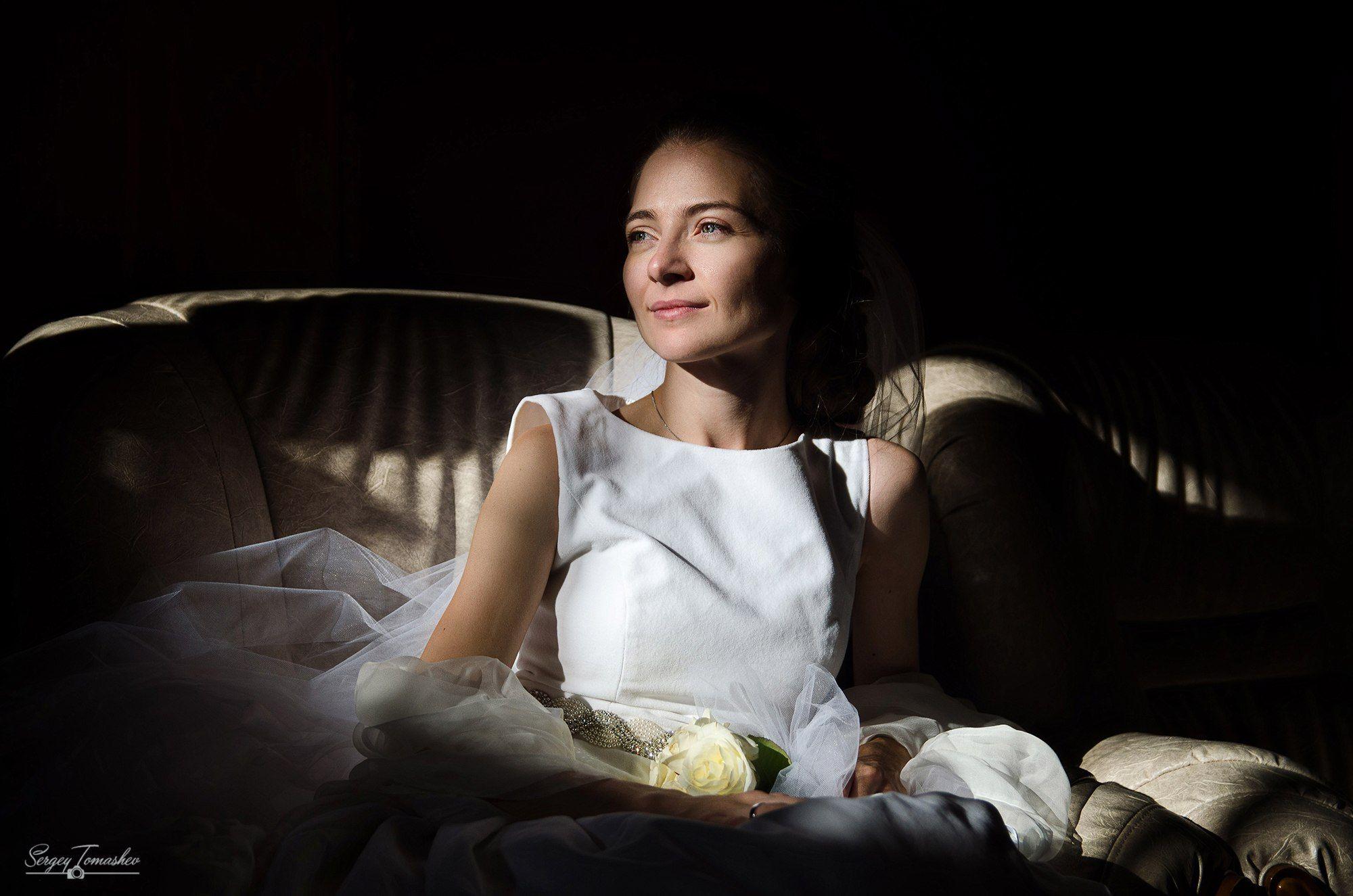 портрет, студия, свет, Томашев Сергей