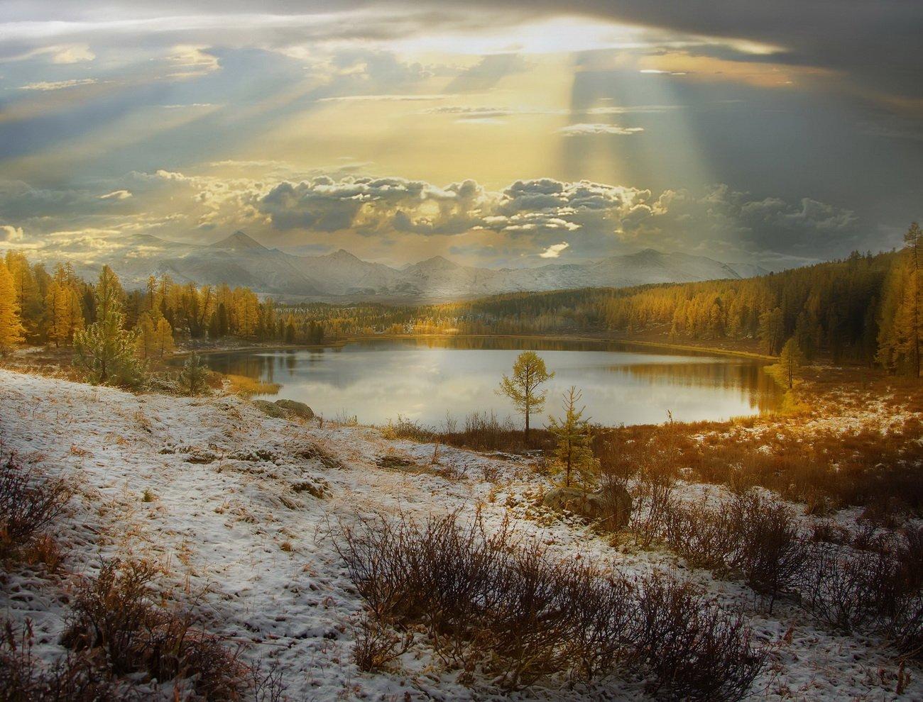 алтай, природа, путешествие, осень, Художников Павел
