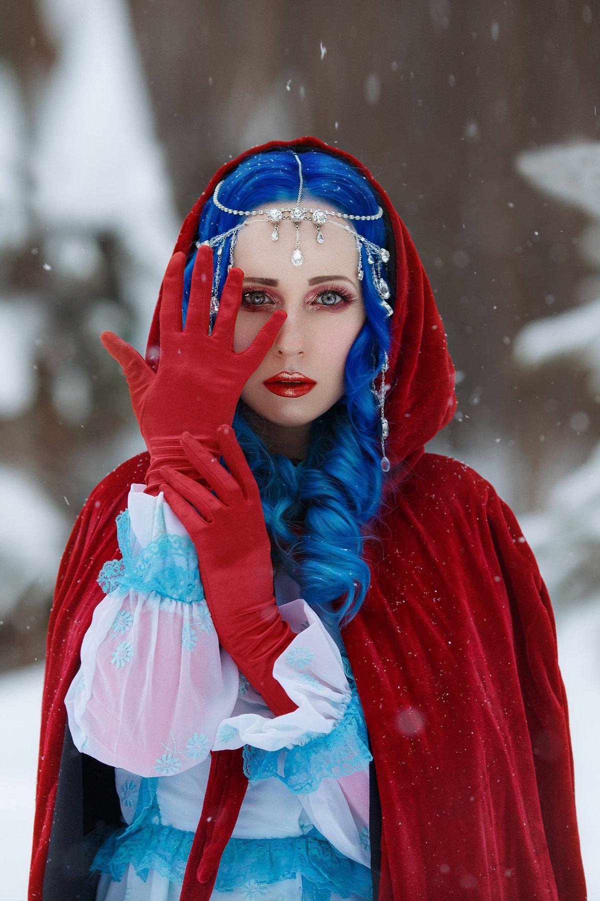 красный плащ, Светлана