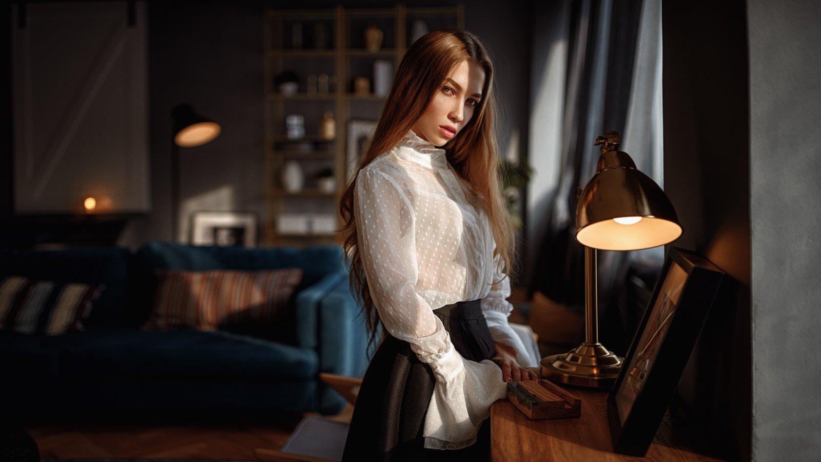 портрет, арт, portrait, art, model, Георгий Чернядьев