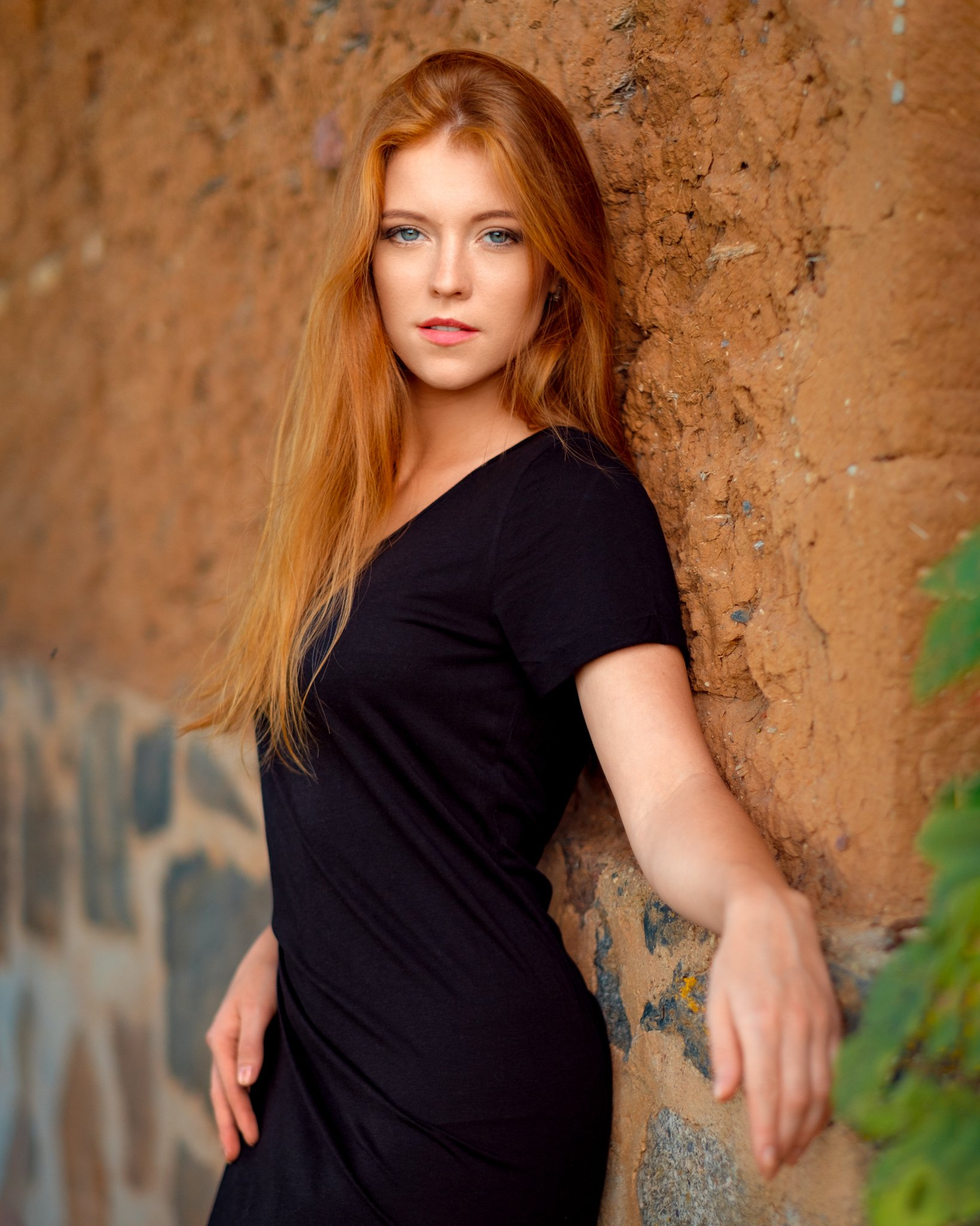 girl, female, pretty, model, outdoors, portrait, summer, redhead, Saulius Ke