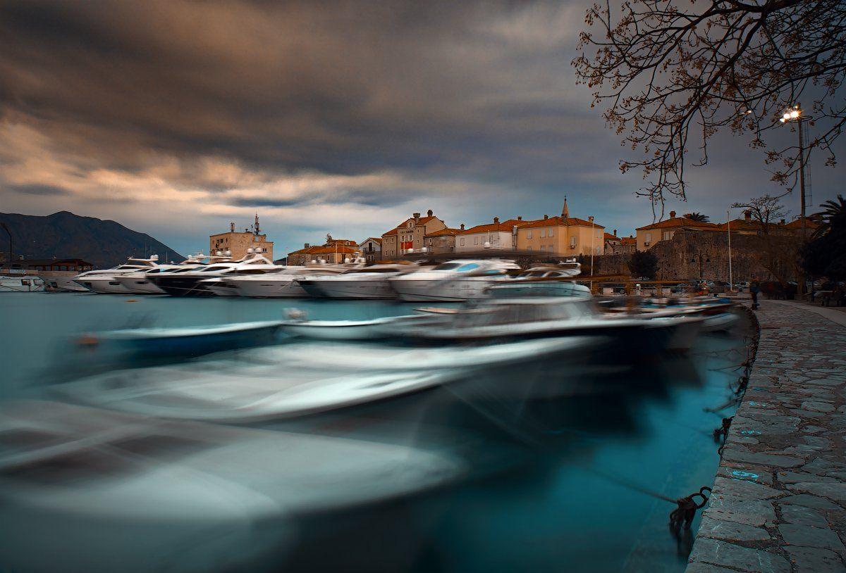 черногория, бухта, старый город, Alexander Martynov