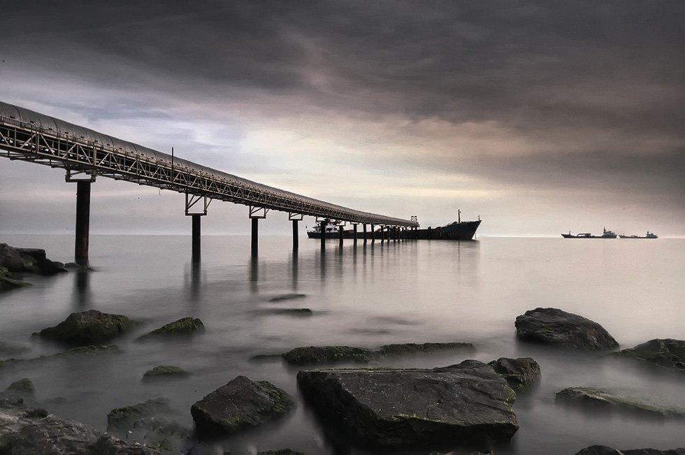 sea, ship, mustafa yagci
