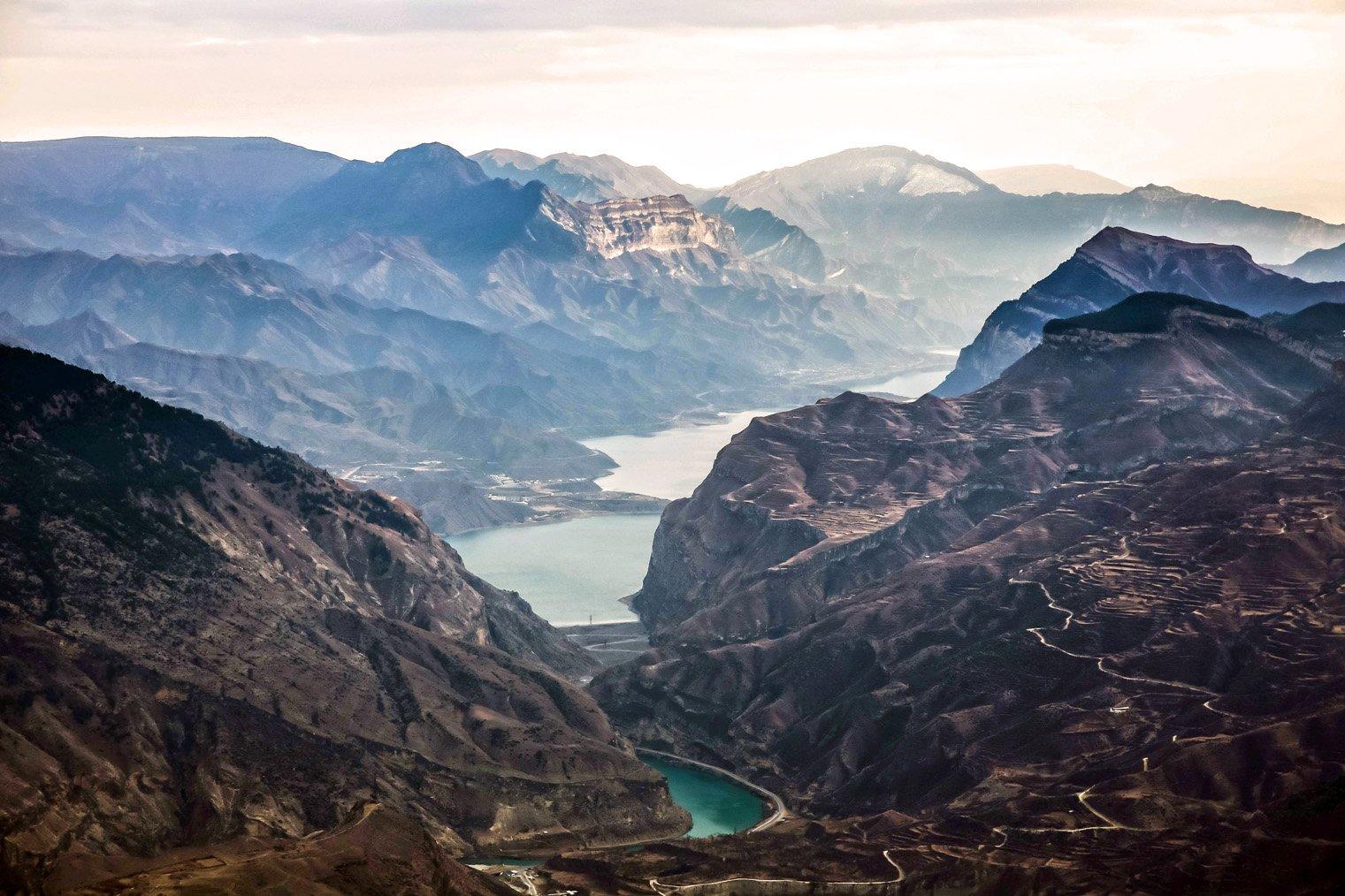 горы,зима,просторы.водохранилище.., Марат Магов