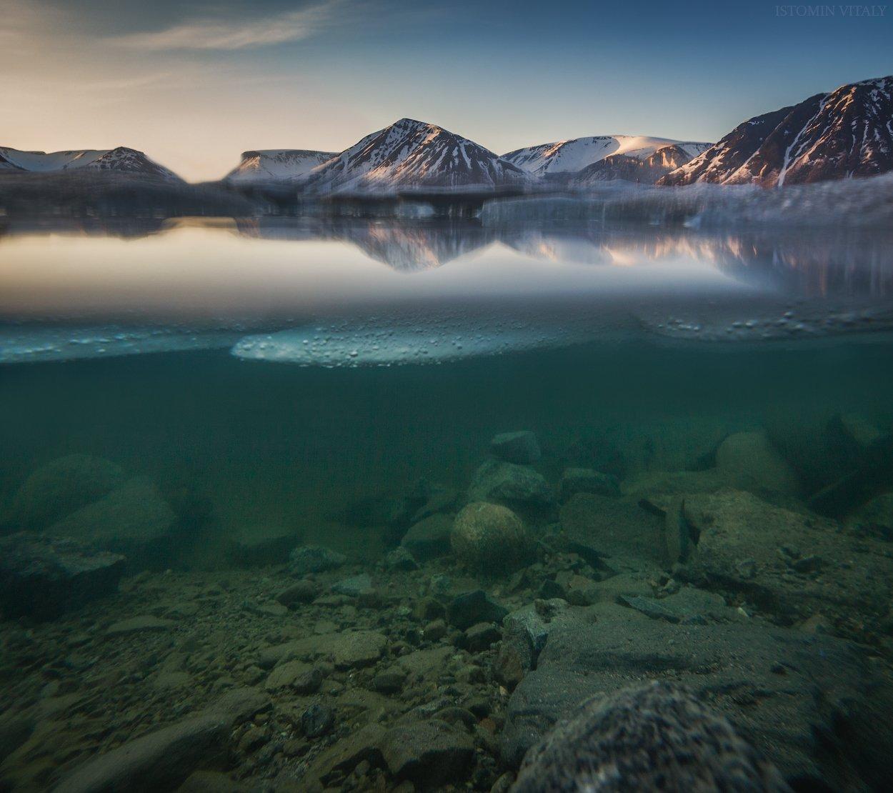 пейзаж,вода,озеро,лед,весна, Истомин Виталий