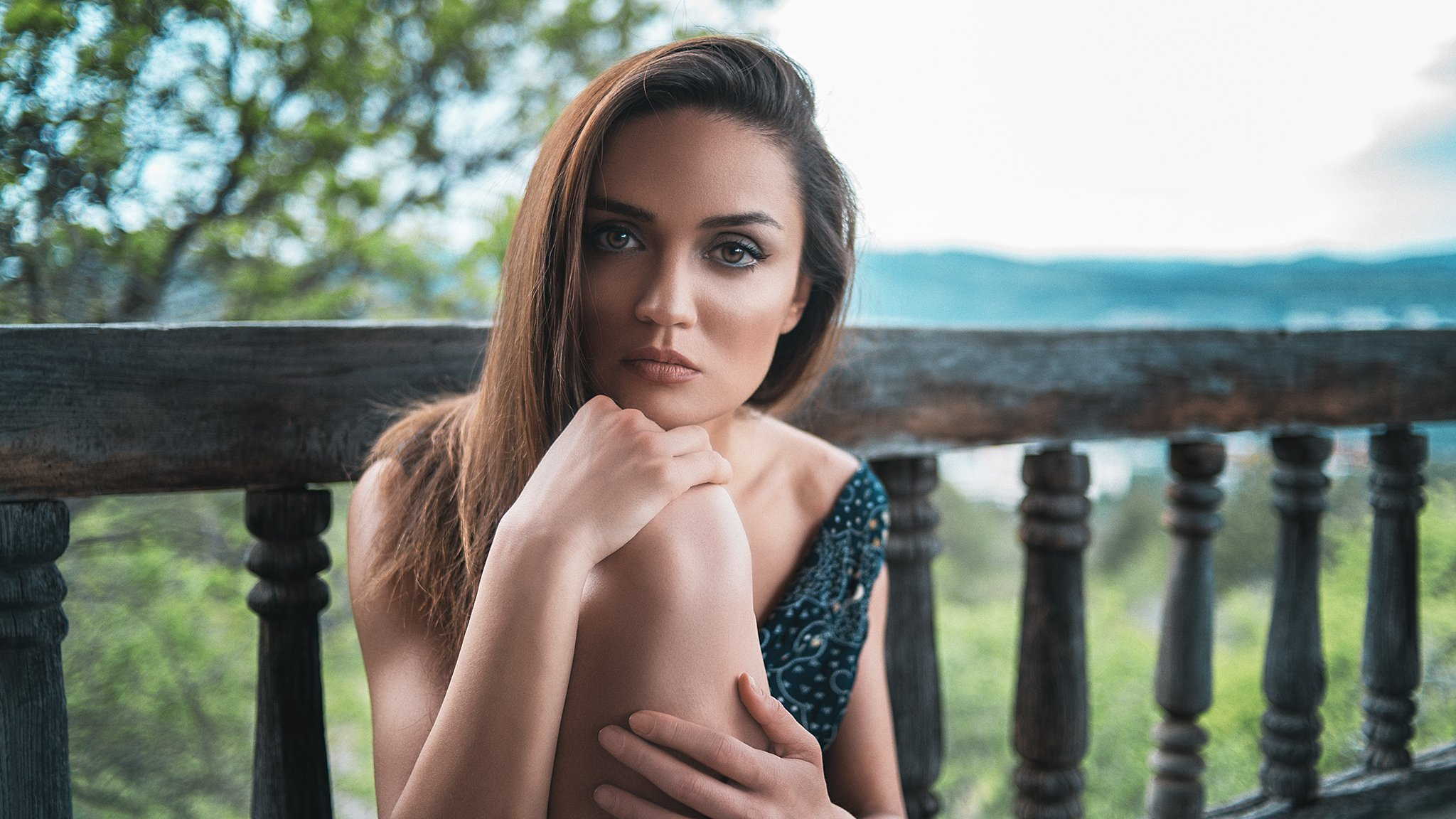 portrait girls women fashion, Nikolozi Meskhi