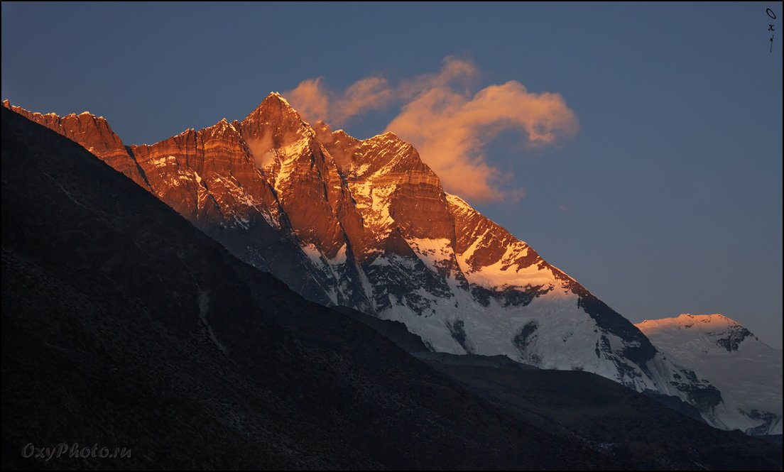 непал, гималаи, трек к бл эвереста, nepal, himalaya, trek to bc everest, lchotse, лхоцзе, Оксана Борц