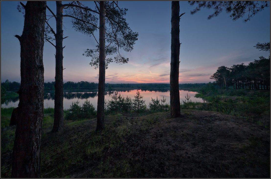 рассвет, утро, пейзаж, Иван